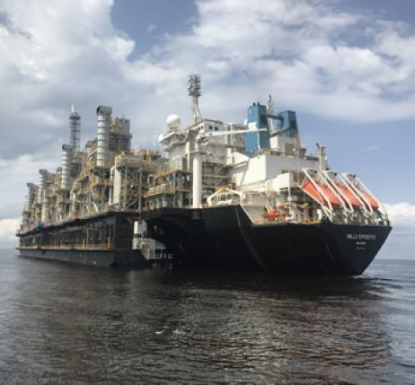 Prelude FLNG Floating Liquefied Natural Gas - Perenco